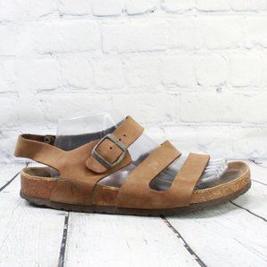 Birkenstock Leather Ankle Strap Sandal Sz L 11 M 9